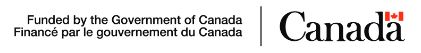 Funding provided by Government of Canada