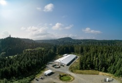 Kuterra Salmon facility near Port McNeill. (Kuterra Salmon photo)