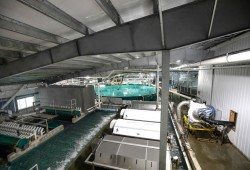 Kuterra Salmon continues to refine its technology for land-based production. (Kuterra Salmon photo)