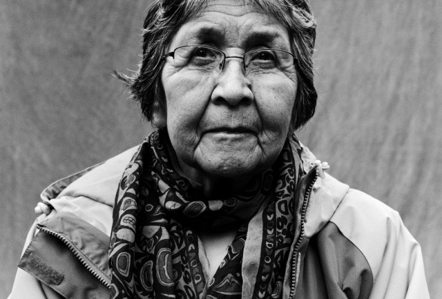 "Helen Dick grew up in a fluent speaking home and continues to speak her language. ""I used to hear my mom tell us, 'just be who you are. Don't let people try to change who you are or what you are. You be you.' So that's how I've tried to live my life,"" said the Tseshaht elder."